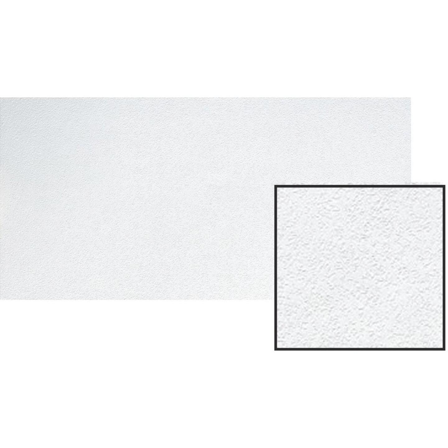BP LifeStyle Fissured 2 Ft. x 4 Ft. White Wood Fiber Suspended Ceiling Tile (8-Count) Image 2