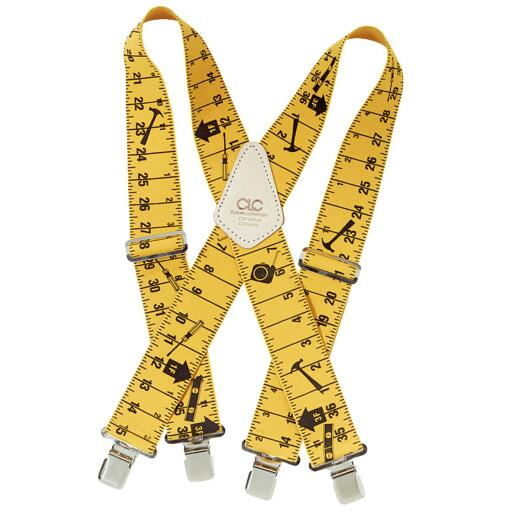 Custom Leathercraft Ruler Pattern Work Suspenders