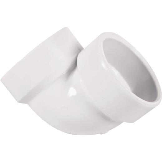 Charlotte Pipe 1-1/2 In. 90D PVC Vent Elbow