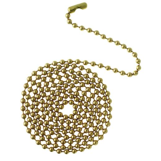 Westinghouse 3 Ft. Polished Brass Pull Chain
