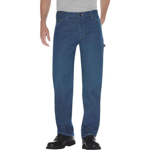 Dickies 34 x 30 Relaxed Fit Duck Carpenter Jean