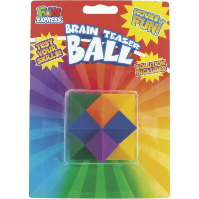 Fun Express Multi-Colored Brain Teaser Puzzle Ball